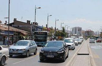 Sivas'ta trafiğe kayıtlı araç sayısı arttı