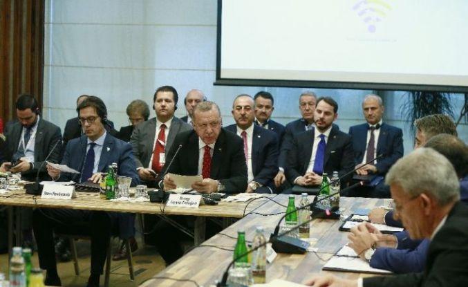 """Erdoğan, Balkan Zirvesi'nde konuştu: """"Ekonomik işbirliğimizi geliştirmek zorundayız"""""""