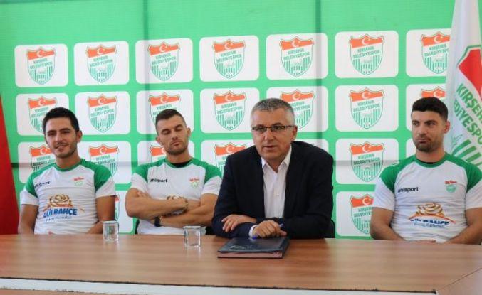 Kırşehir Belediyespor, transfer çalışmalarına başladı