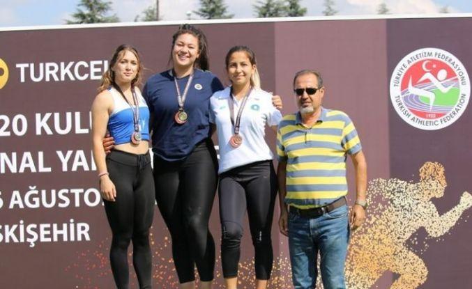 Bursalı genç atletler dördüncü bitirdi