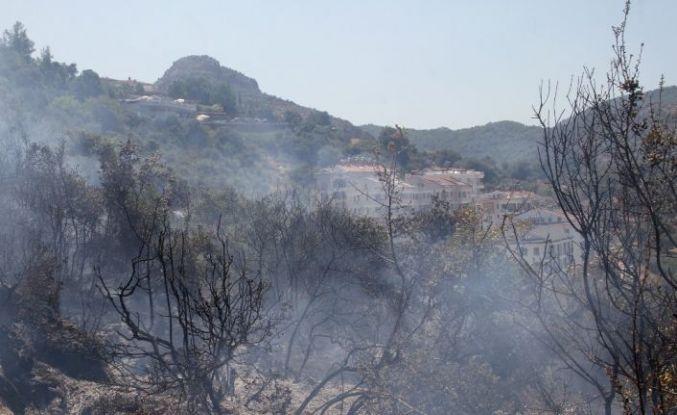 Fethiye'deki yangın kısa sürede söndürüldü