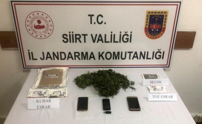 Siirt'te uyuşturucu ticareti yapan 3 şahıs gözaltına alındı