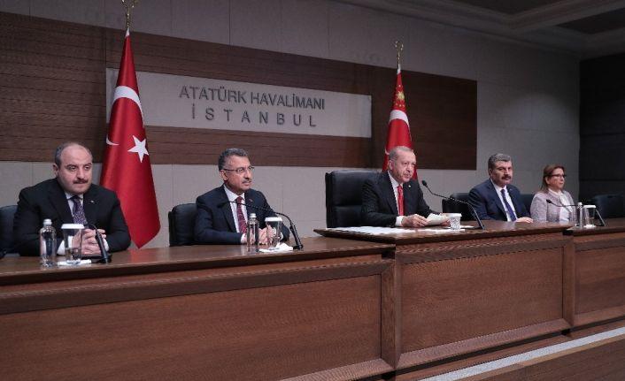 """Erdoğan: """"Münbiç konusunda kararımızı  uygulama aşamasındayız"""""""